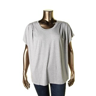 Journee Collection Women 39 S Contemporary Plus Ruched Animal Print Top Free Shipping On Orders