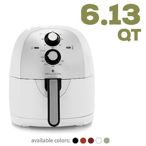 Paula Deen 6.13 QT XL Air Fryer, Rapid Air Circulation System