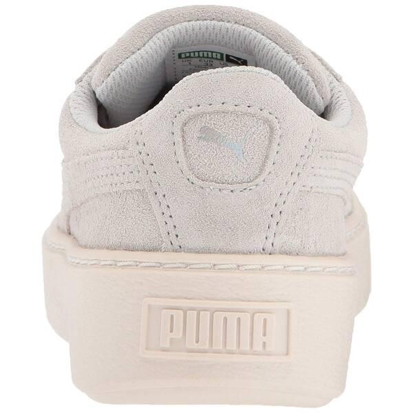 quality design 52164 464b8 Shop PUMA Girls Suede Platform Glam Low Top Lace Up Walking ...