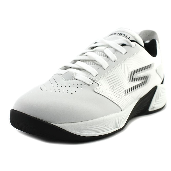 Skechers GoBasketball - Torch 2 Men Round Toe Synthetic White Sneakers