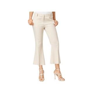 XOXO Womens Juniors Natalie Linen Pants Linen Low-Rise - 1/2