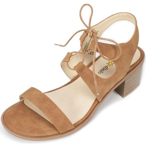 Seven Dials Womens Alethea Open Toe Casual Slingback Sandals