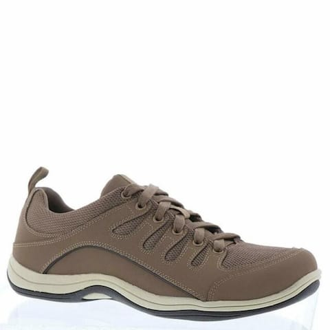 Easy Street Womens Ellen Leather Low Top Lace Up Walking Shoes
