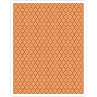 Trellis By Tim Holtz - Sizzix Texture Fades A2 Embossing Folder
