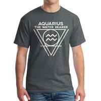 Aquarius Water Bearer Men's Dark Heather T-shirt