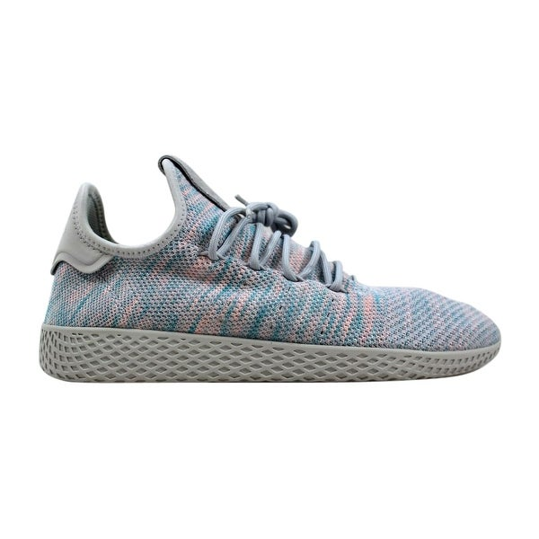 611be427770cb Shop Adidas Pharrell Williams Tennis Hu Blue Pink Men s BY2671 Size ...