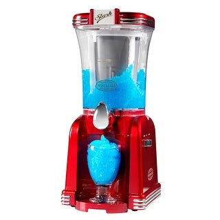 Nostalgia Electrics RSM-650 Retro Series Slushee Machine - Red