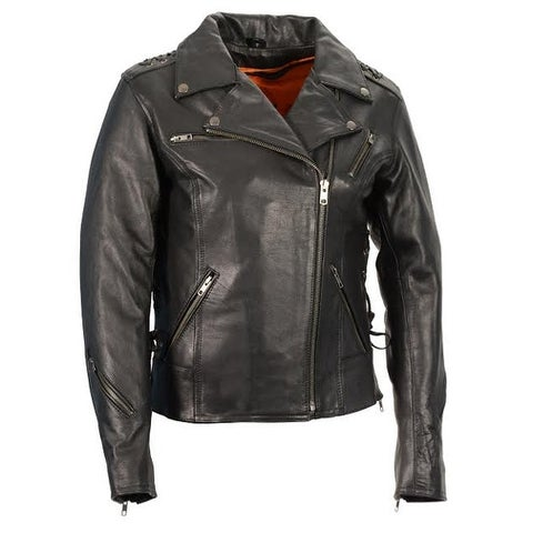 Women's Lightweight Lace to Lace M/C Jacket