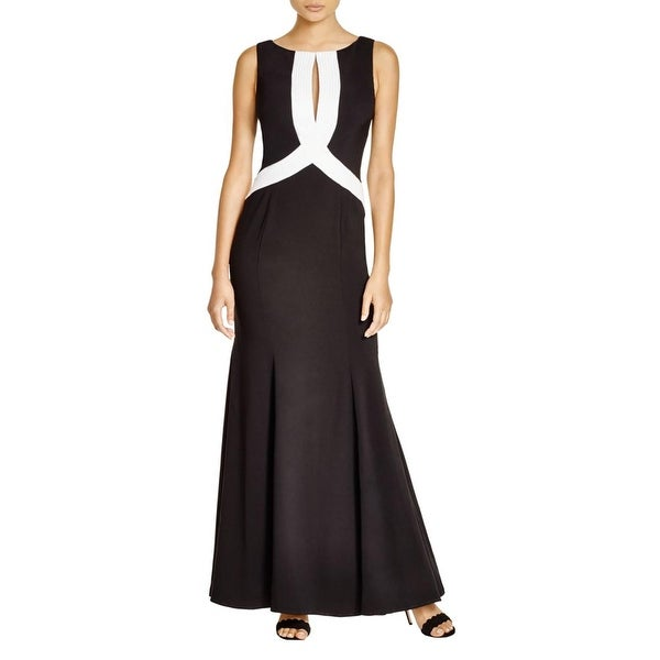 JS Collections Womens Evening Dress Cutout Embellished - Free ...