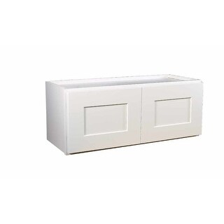 """Design House 569236 Brookings 24"""" Wide x 12"""" High Double Door Kitchen Cabinet - White"""