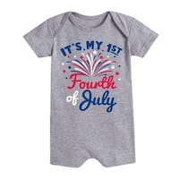 It's My First Fourth Of July  - Infant Romper