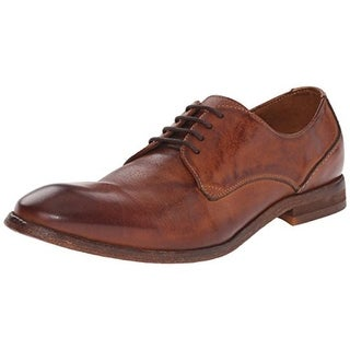 H by Hudson Mens Dylan Leather Distressed Oxfords - 7