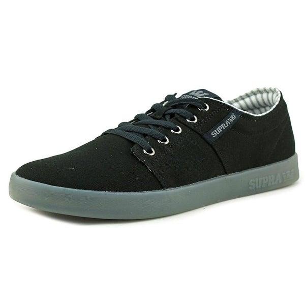 Supra Stacks II Men Black-Ice Skateboarding Shoes