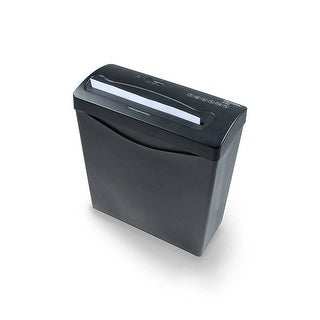Royal 29183G-BK Crosscut Shredder for Shredding up to 6 Sheets Per Pass, Black