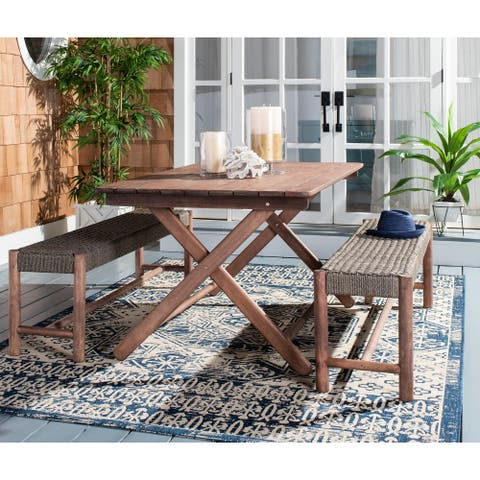SAFAVIEH Outdoor Living Jardin 3Pc Dining Set