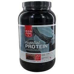Iron Tek Natural Protein Chocolate 2.3-ounce Powder