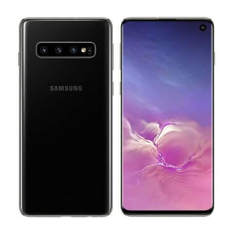 Samsung Galaxy S10+ 128GB SM-G975 Prism Black Verizon Smartphone - Prism Black