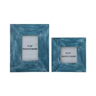 Baeddan Antique Blue Photo Frame A2000147F - Set of 2 Baeddan Antique Blue Photo Frame - Set of 2