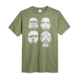 STAR WARS NEW Green Mens Size Large L Stormtroopers Graphic Tee T-Shirt
