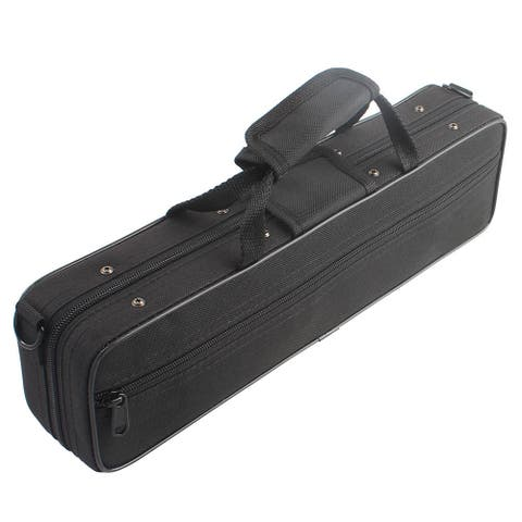 High-strength Oxford Flute Protective Cloth Box Black