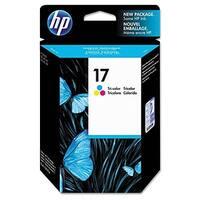 HP 17 Tri-color Original Ink Cartridge (C6625A) (Single Pack)