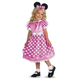 Child's Clubhouse Minnie Mouse - Pink Costume|https://ak1.ostkcdn.com/images/products/is/images/direct/51a6a7afeea1a459921d8d391f2f71f6d1162eff/Child%27s-Clubhouse-Minnie-Mouse---Pink-Costume.jpg?impolicy=medium