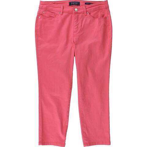 Charter Club Womens Bristol Carpenter Jeans, Pink, 4P