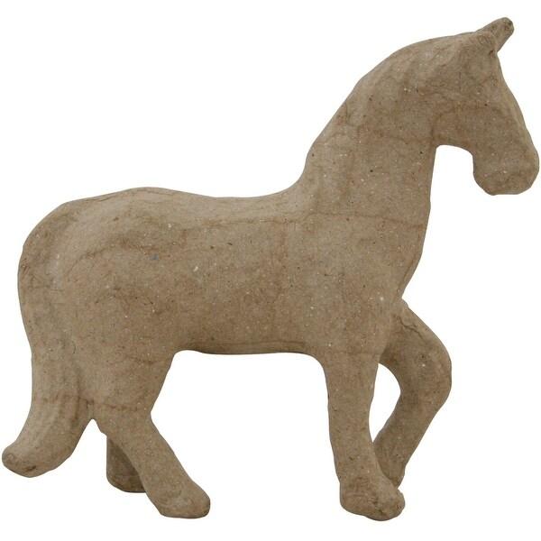 """Paper-Mache Horse-4.75""""X4.25"""""""
