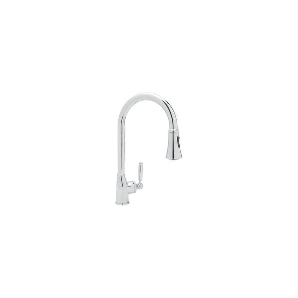 Rohl MB7928LM-2 Michael Berman Deck Mounted Kitchen Faucet with Pullout Spray - n/a