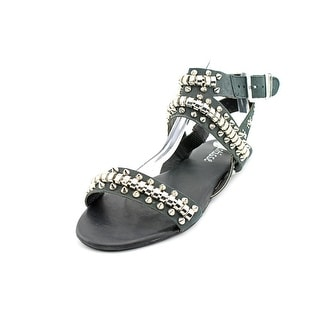 Matisse Elevate Women Open Toe Leather Black Gladiator Sandal