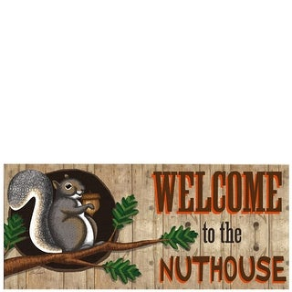 Welcome to the Nut House Switch Mat