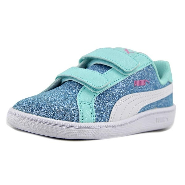 35b0b2d068b Shop Puma Smash Glitz Glamm V Inf Toddler Synthetic Blue Fashion ...