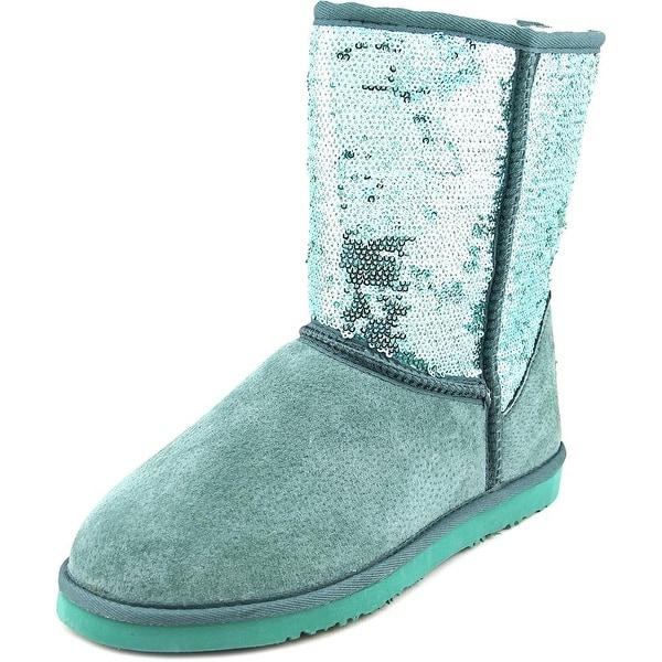 Lamo Sequin Girl Women  Round Toe Suede  Winter Boot