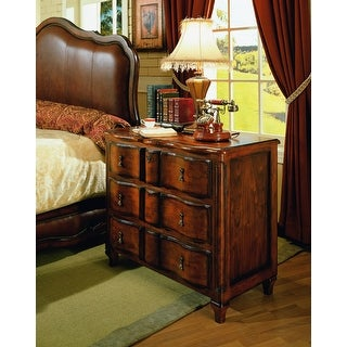 Chambord Night Stand Bed Side Table with Wood Finish