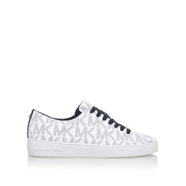 MICHAEL Michael Kors Womens Keaton Low Top Lace Up Fashion Sneakers