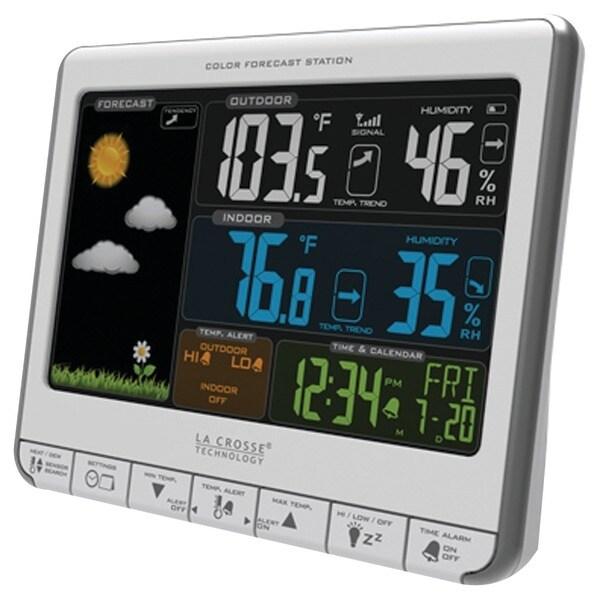 La Crosse Technology 308-1412S Color Weather Station
