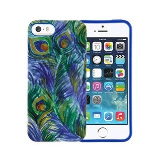 Xentris Soft Shell for Apple iPhone 5/5S - Peacock