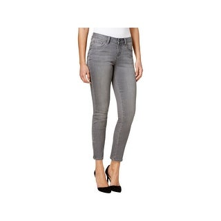 Earl Jean Womens Skinny Jeans Denim Zipped Ankle (4 options available)