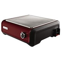 Crock-Pot Hook Up SCCPMD4-R Warming Tray Connectable Slow Cooker System - Red