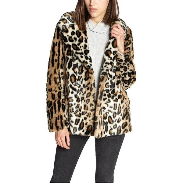 Sanctuary Clothing Womens Faux Coat. Opens flyout.