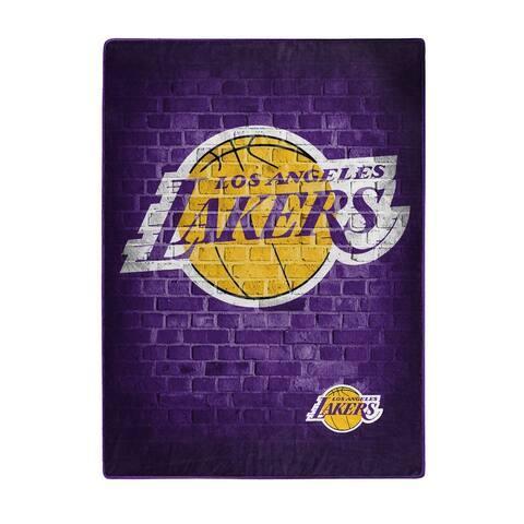 NBA 0805 Lakers Street Raschel