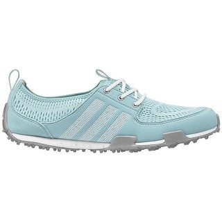 Adidas Women's Climacool Ballerina II Clear Aqua/White/Silver Golf Shoes Q44539 (5 options available)