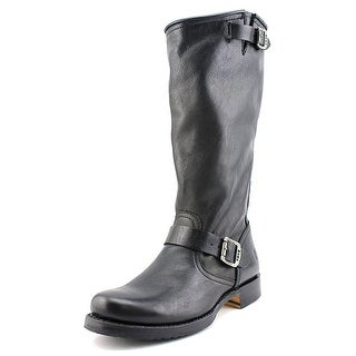 Frye Veronica Slouch Women  Round Toe Leather Black Knee High Boot