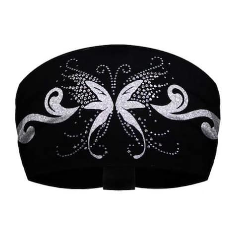 That's A Wrap Women's Rhinestone Accented Angelic Butterfly Knotty Band KB1125S - One Size Fits Most
