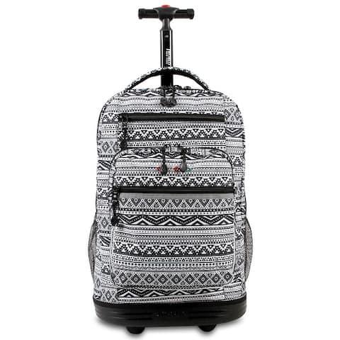 J World Sundace Tribal Rolling 15-inch Laptop Backpack
