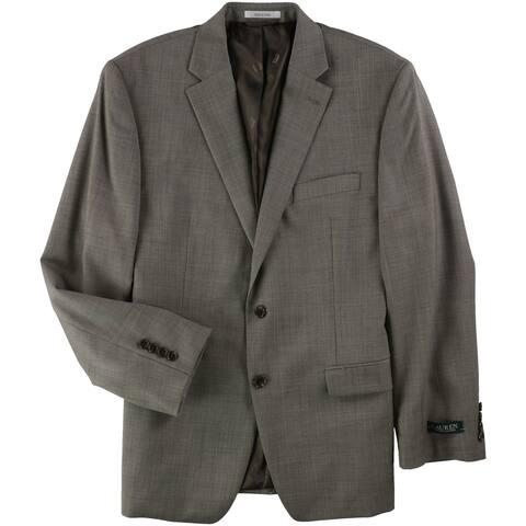 Ralph Lauren Mens Classic Fit Ultraflex Two Button Suit
