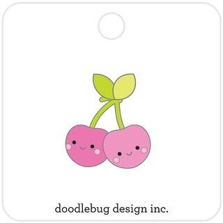 Cheery Cherries - Doodlebug Collectible Enamel Pin