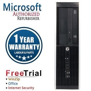Refurbished HP Compaq Pro 6305 SFF AMD A4-5300B 3.4G 8G DDR3 1TB DVD WIN 10 Pro 64 1 Year Warranty - Black