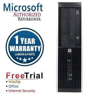 Refurbished HP Compaq Pro 6305 SFF AMD A4-5300B 3.4G 8G DDR3 320G DVD WIN 10 Pro 64 1 Year Warranty - Black