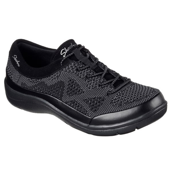 Skechers 48857 BLK Women's LITE STEP-REACTIVE Sneaker
